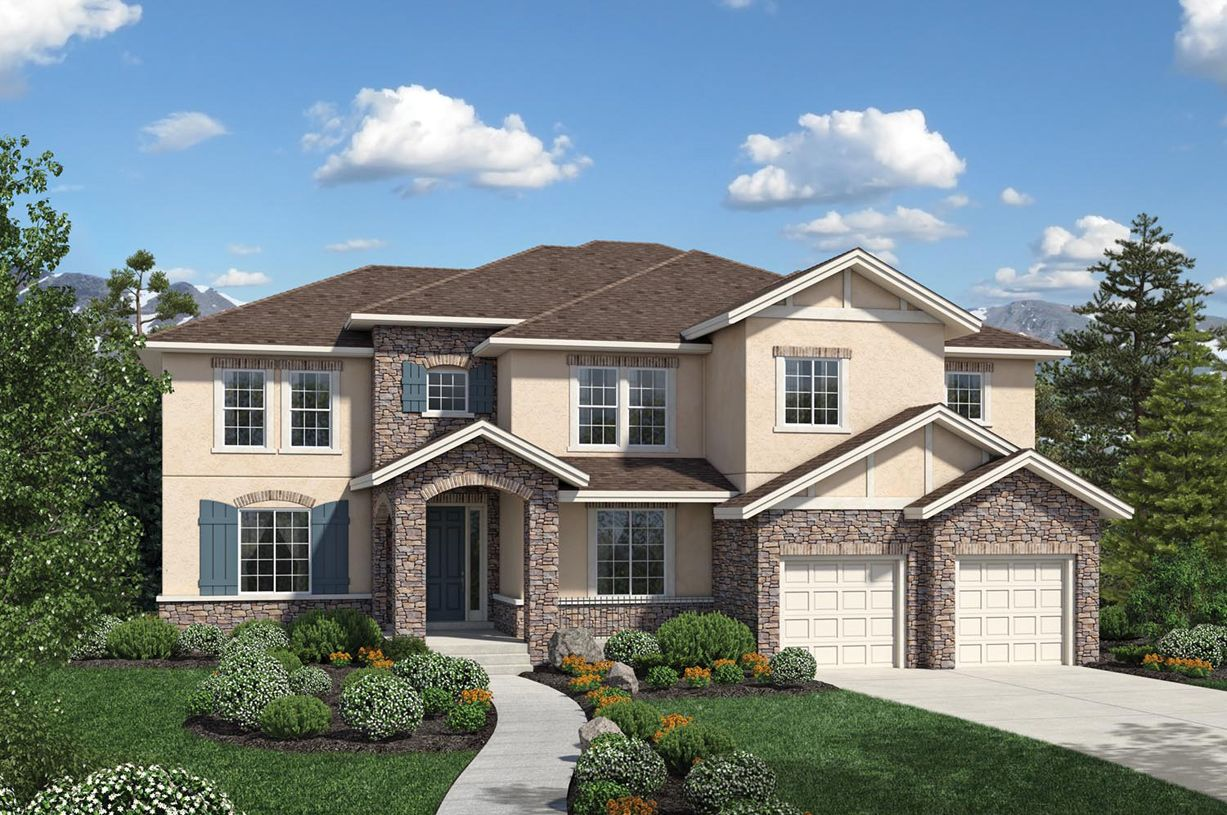 Single Family for Active at Toll Brothers At Flatiron Meadows - The Vistas - Valmont 1094 Carbonate Court Erie, Colorado 80516 United States