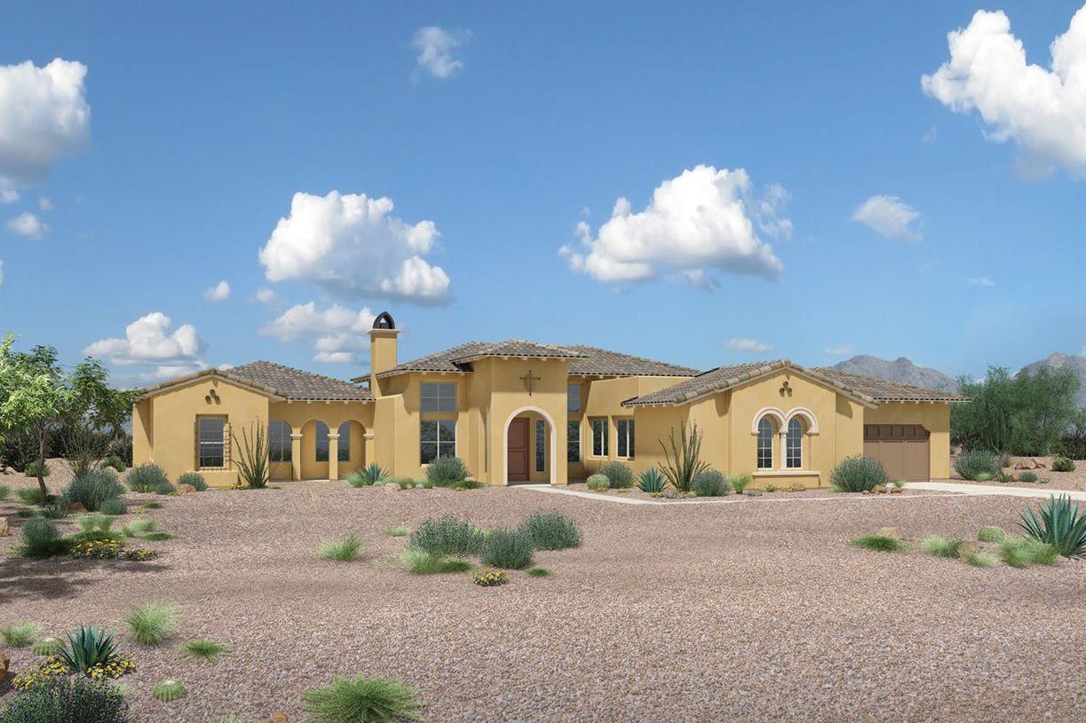 Single Family for Sale at Turquesa - Trovilla 7155 E Navarro Way Scottsdale, Arizona 85266 United States