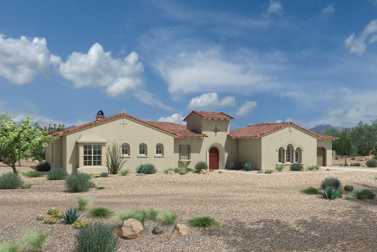 Single Family for Sale at Turquesa - Vacaro 7155 E Navarro Way Scottsdale, Arizona 85266 United States
