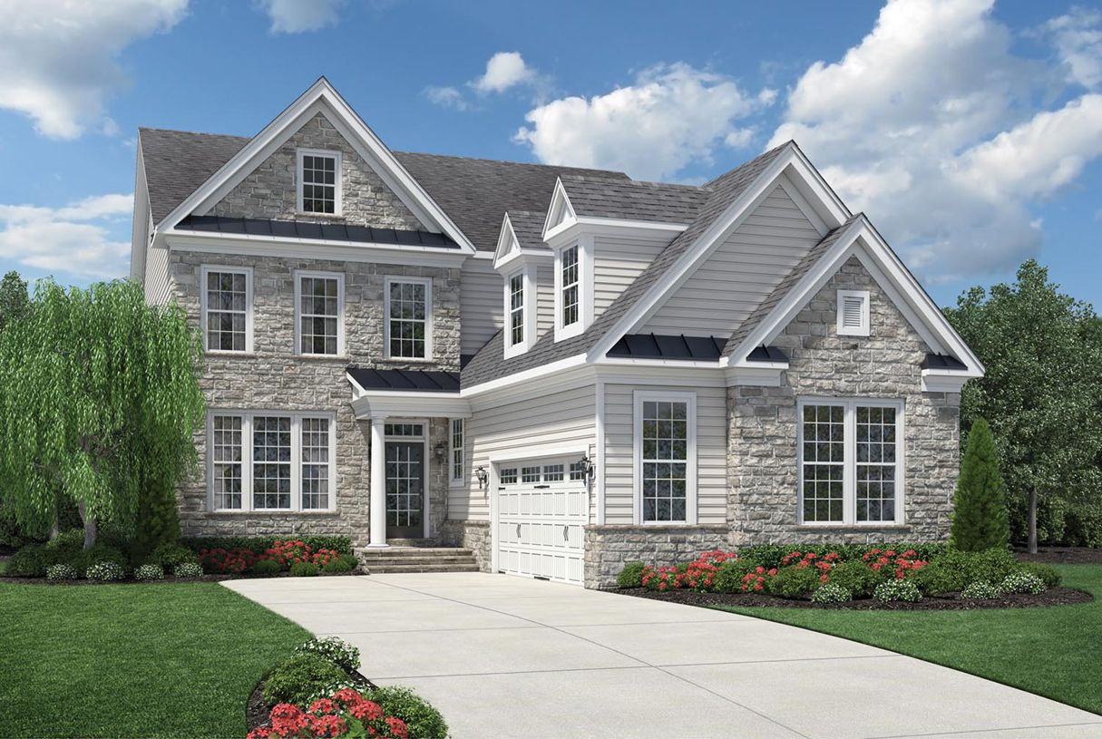 Toll brothers liseter the merion collection duke for Newtown builders