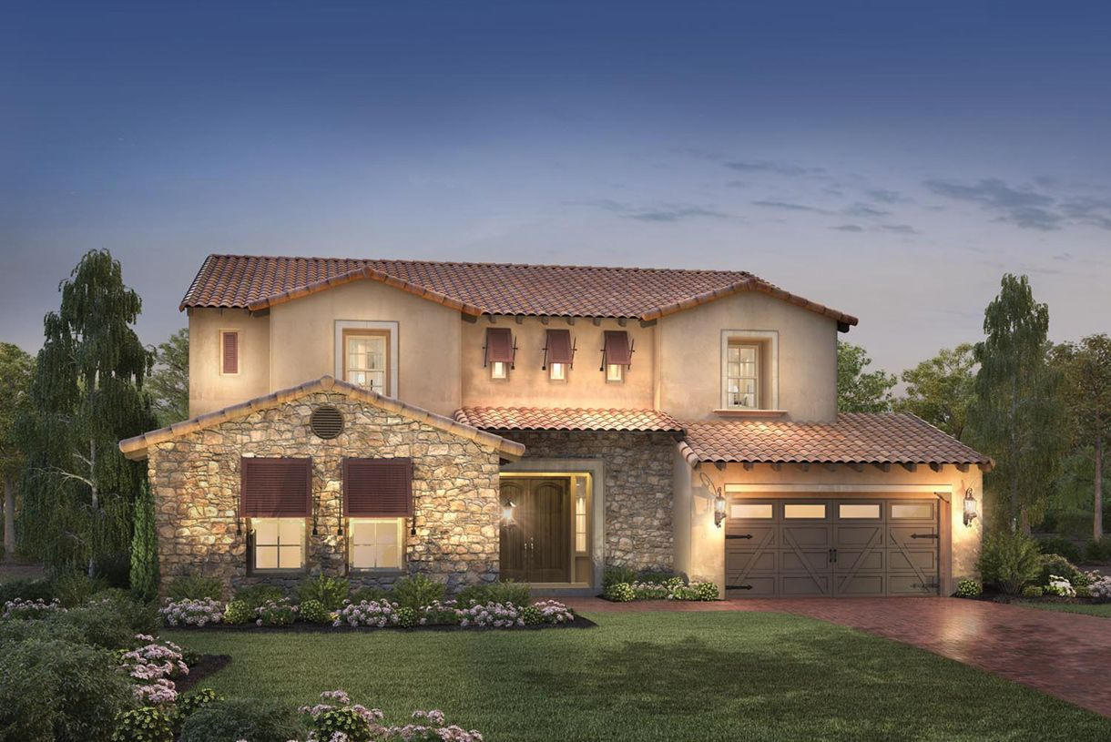 Toll brothers the pinnacle at moorpark highlands san for Moorpark houses for sale
