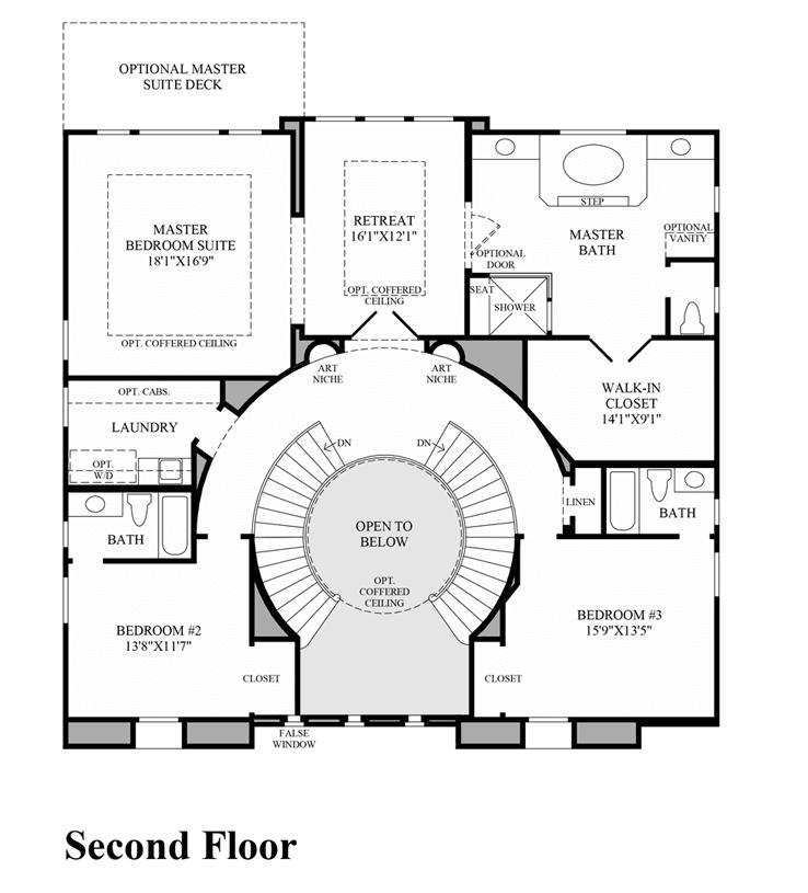 San Miguel The Pinnacle at Moorpark Highlands in Moorpark – Pinnacle Homes Floor Plans
