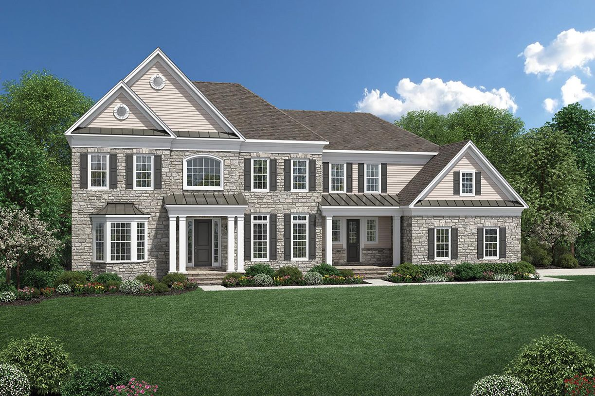 Single Family for Active at Estates At Bamm Hollow - Weatherstone 6 Strathmore Road Lincroft, New Jersey 07738 United States