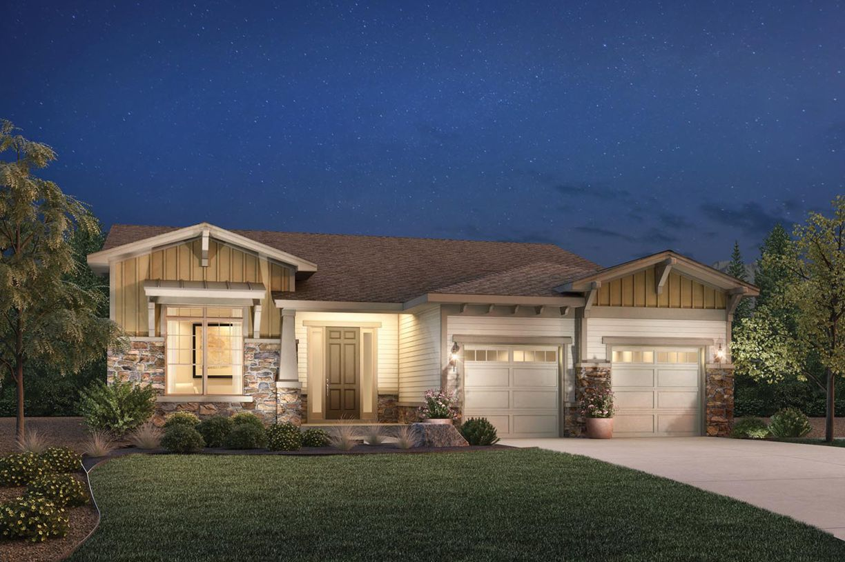 Single Family for Sale at Toll Brothers At Inspiration - Broomfield Collection - Dunraven 8393 South Winnipeg Court Aurora, Colorado 80016 United States