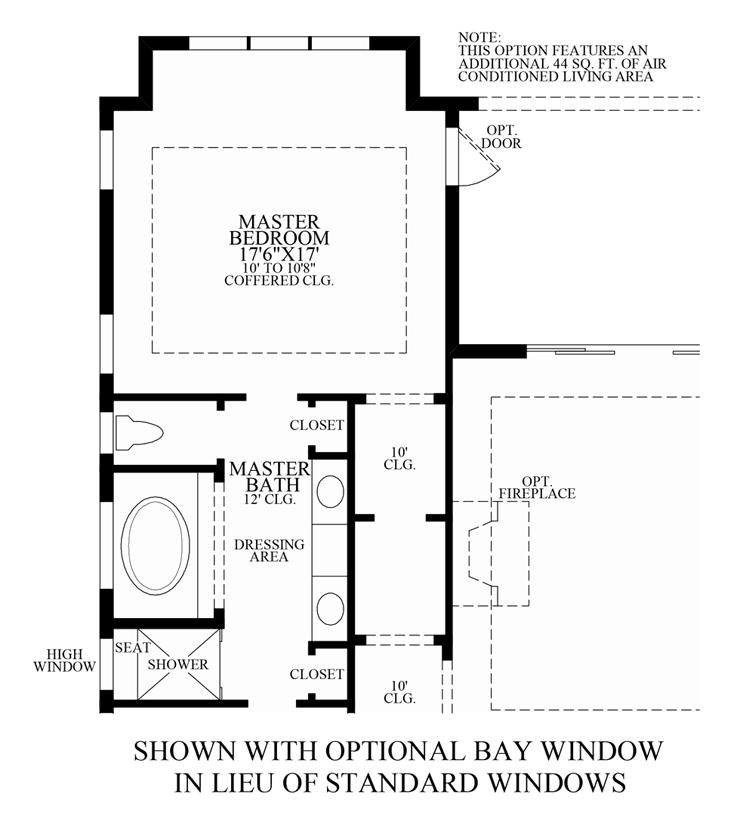 Optional Bay Windows ILO Standard