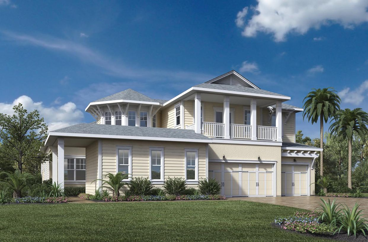 Single Family for Active at Julington Lakes - Estate Collection - Catalina 57 Lake Mist Court St. Johns, Florida 32259 United States