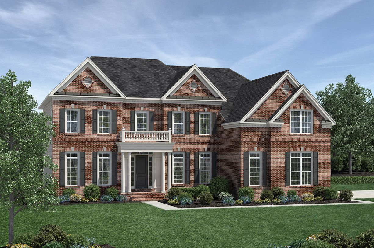 Single Family for Active at Estates At Bamm Hollow - Champlain 6 Strathmore Road Lincroft, New Jersey 07738 United States