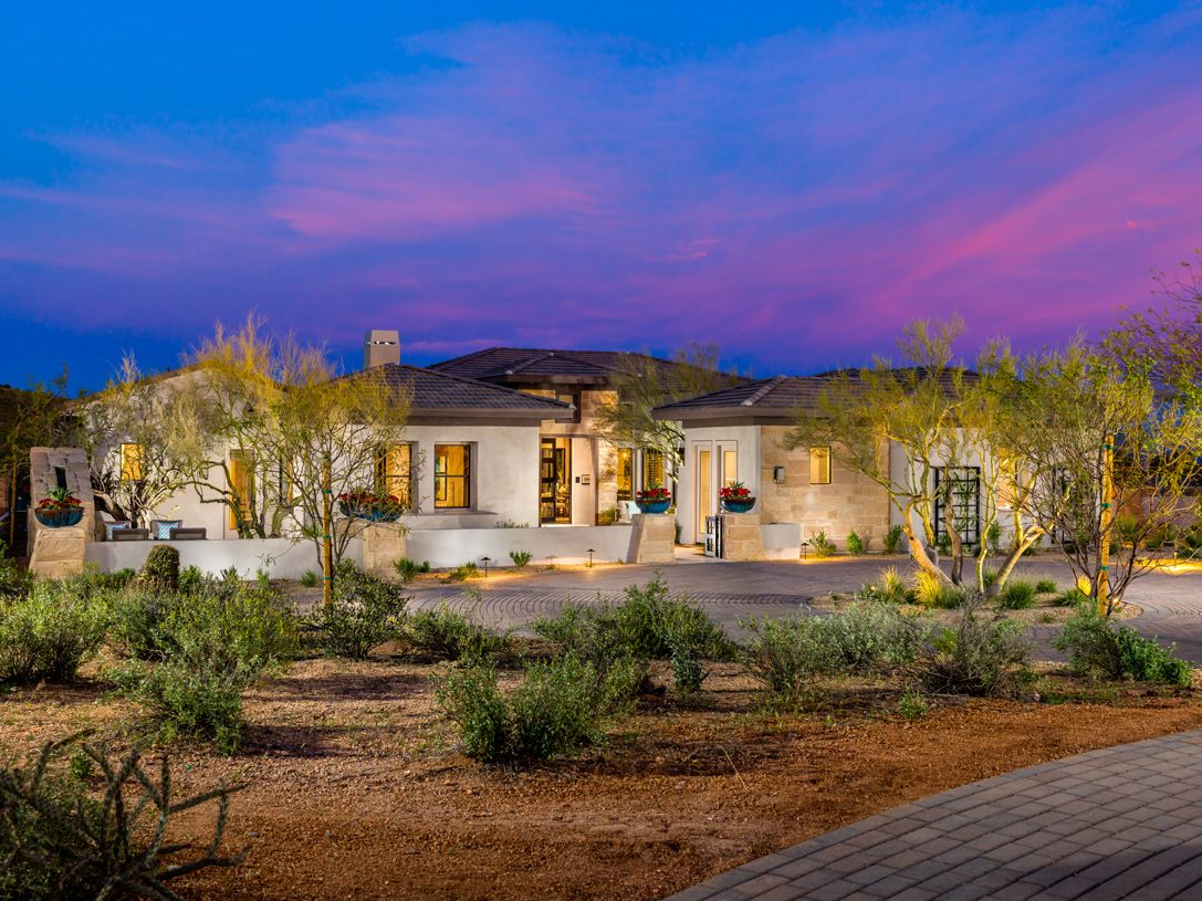 Talon ranch new homes in scottsdale az by toll brothers for Arizona home builders