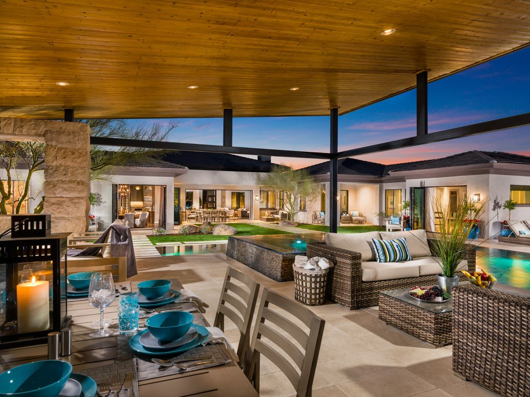 Living Spaces Scottsdale : Talon Ranch new homes in Scottsdale AZ by Toll Brothers