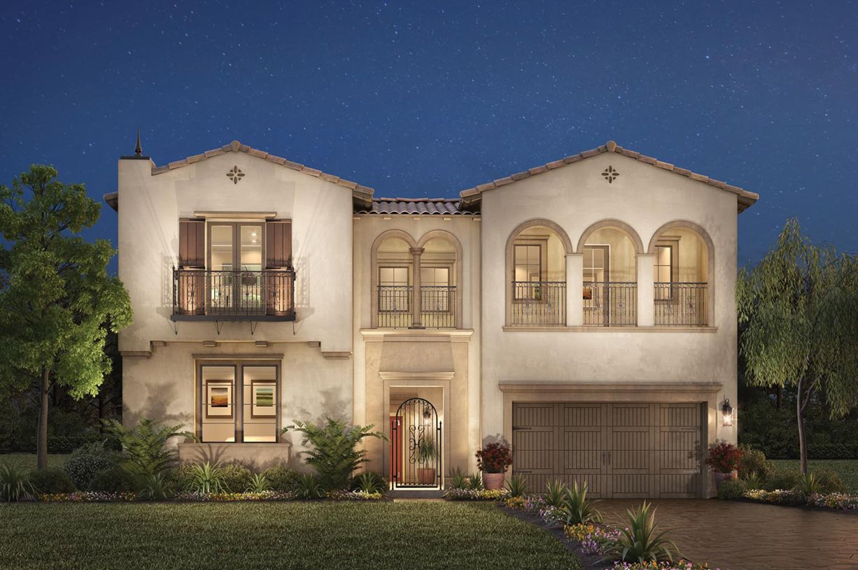 Single Family for Sale at Canyon Oaks - Sage 11010 Sweetwater Court Chatsworth, California 91311 United States