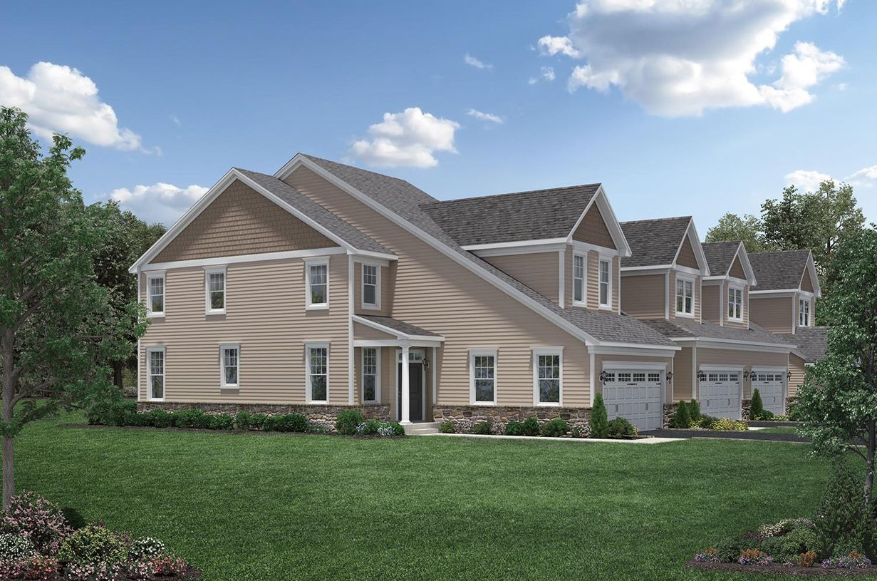 Multi Family for Active at Rivington By Toll Brothers - The Ridge Collection - Denton 7 Brentwood Circle Danbury, Connecticut 06810 United States