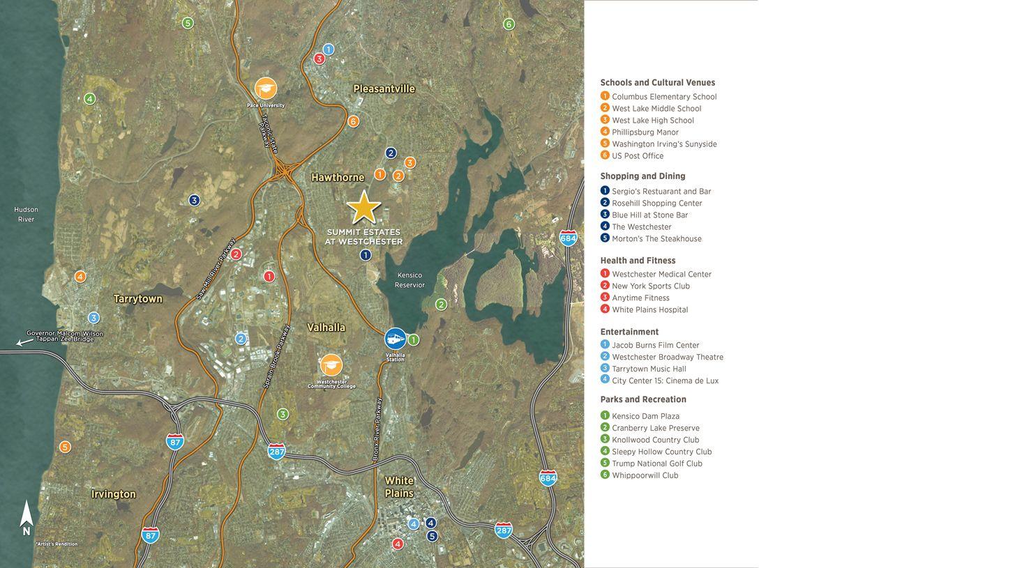 Valhalla New York Map.New Homes Valhalla Ny 4 Patrick Lane Valhalla New York New