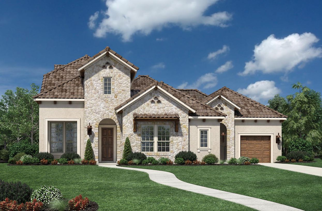 Single Family for Sale at Creekside At Heritage Park - Valen 1700 Johnson Place Flower Mound, Texas 75028 United States