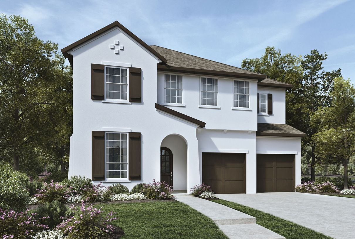 Toll brothers phillips creek ranch the villas at for New modern homes in frisco tx