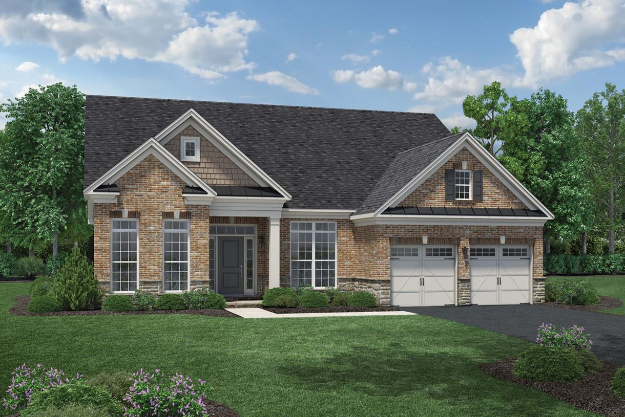 Single Family for Active at Regency At Creekside - The Middleburg Collection - Tradition 13788 Long Ridge Drive Gainesville, Virginia 20155 United States