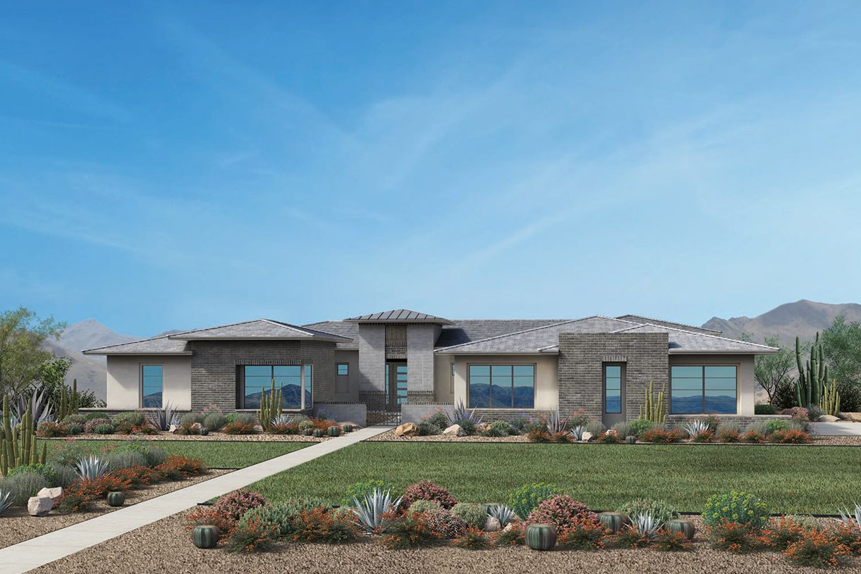 Single Family for Sale at Toll Brothers At Whitewing - Cholla 2731 East Pelican Court Gilbert, Arizona 85297 United States