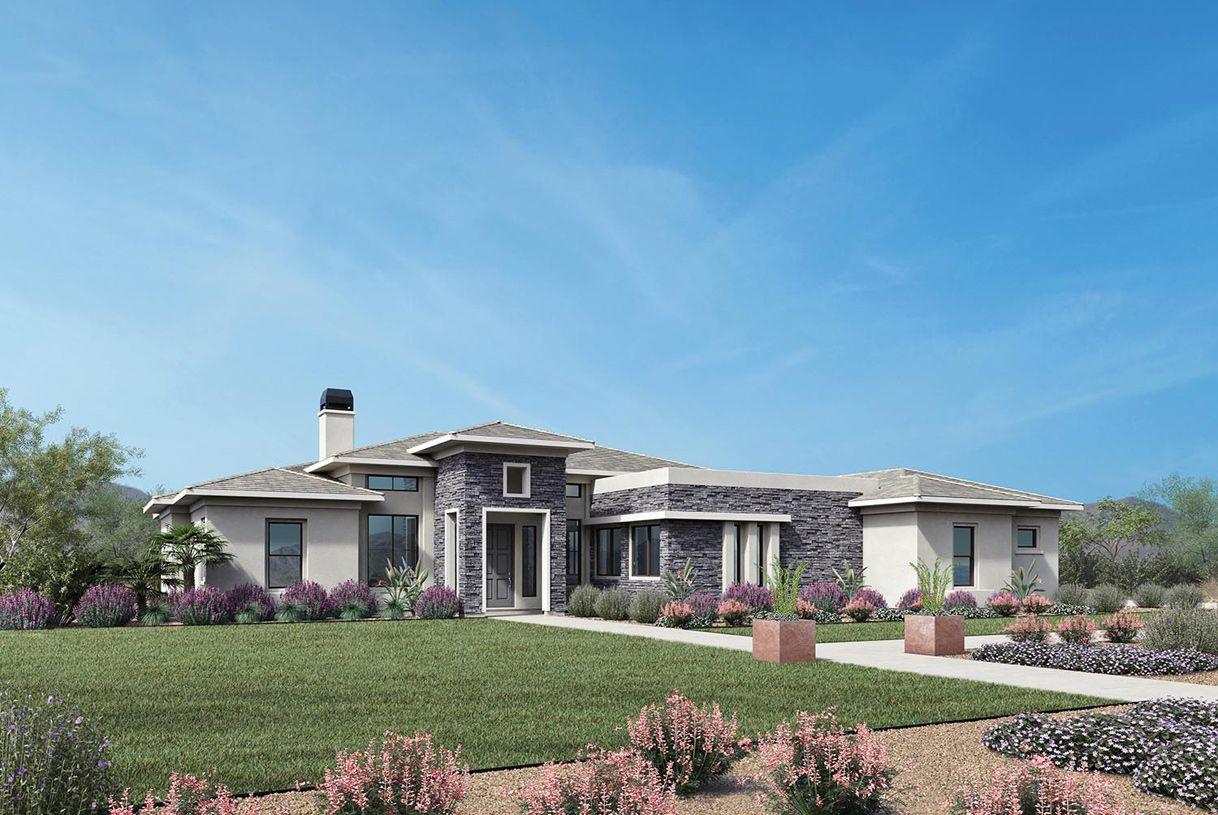 单亲家庭 为 销售 在 Toll Brothers At Whitewing - Trovilla 2731 East Pelican Court Gilbert, Arizona 85297 United States