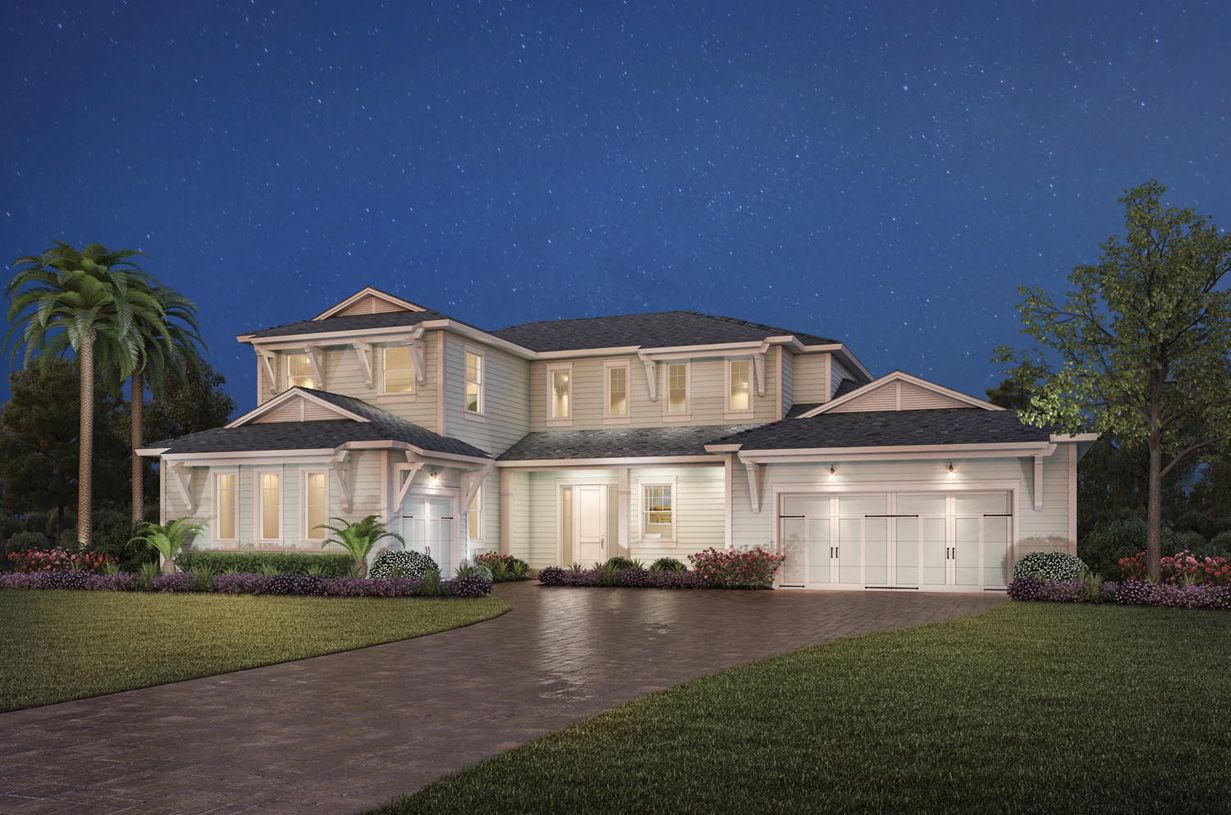 Single Family for Active at Julington Lakes - Estate Collection - Abigail 57 Lake Mist Court St. Johns, Florida 32259 United States
