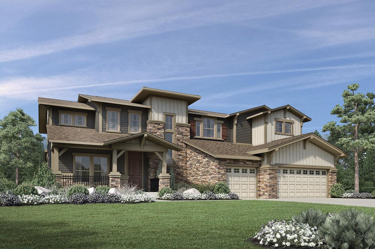 Single Family for Active at Toll Brothers At Flatiron Meadows - The Vistas - Orion 1094 Carbonate Court Erie, Colorado 80516 United States