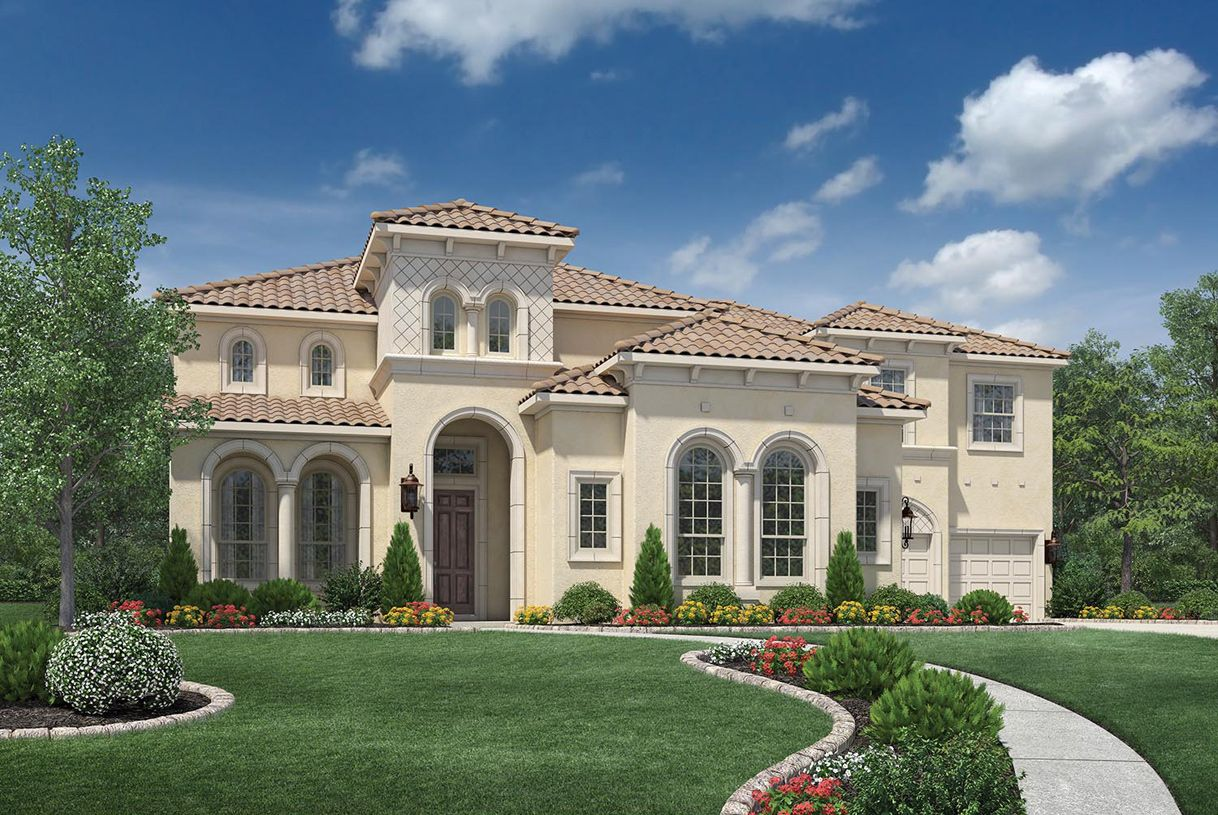 Single Family for Active at Woodson's Reserve - Estate Collection - Peyton 3923 Rolling Thicket Drive Spring, Texas 77386 United States