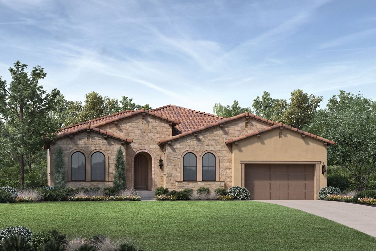 Single Family for Active at Canyon Oaks - Evergreen 11010 Sweetwater Court Chatsworth, California 91311 United States