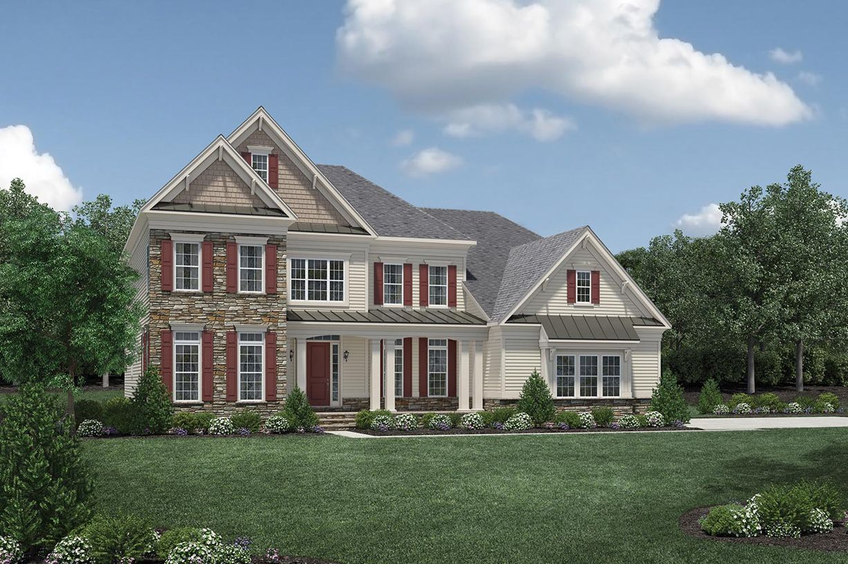 Single Family for Sale at Reserve At Northampton - Hollister 4 Oxford Drive Ivyland, Pennsylvania 18974 United States