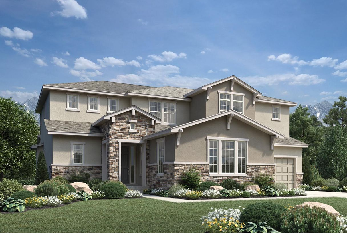 Single Family for Active at Toll Brothers At Candelas - Ralston 16502 West 95th Lane Arvada, Colorado 80007 United States