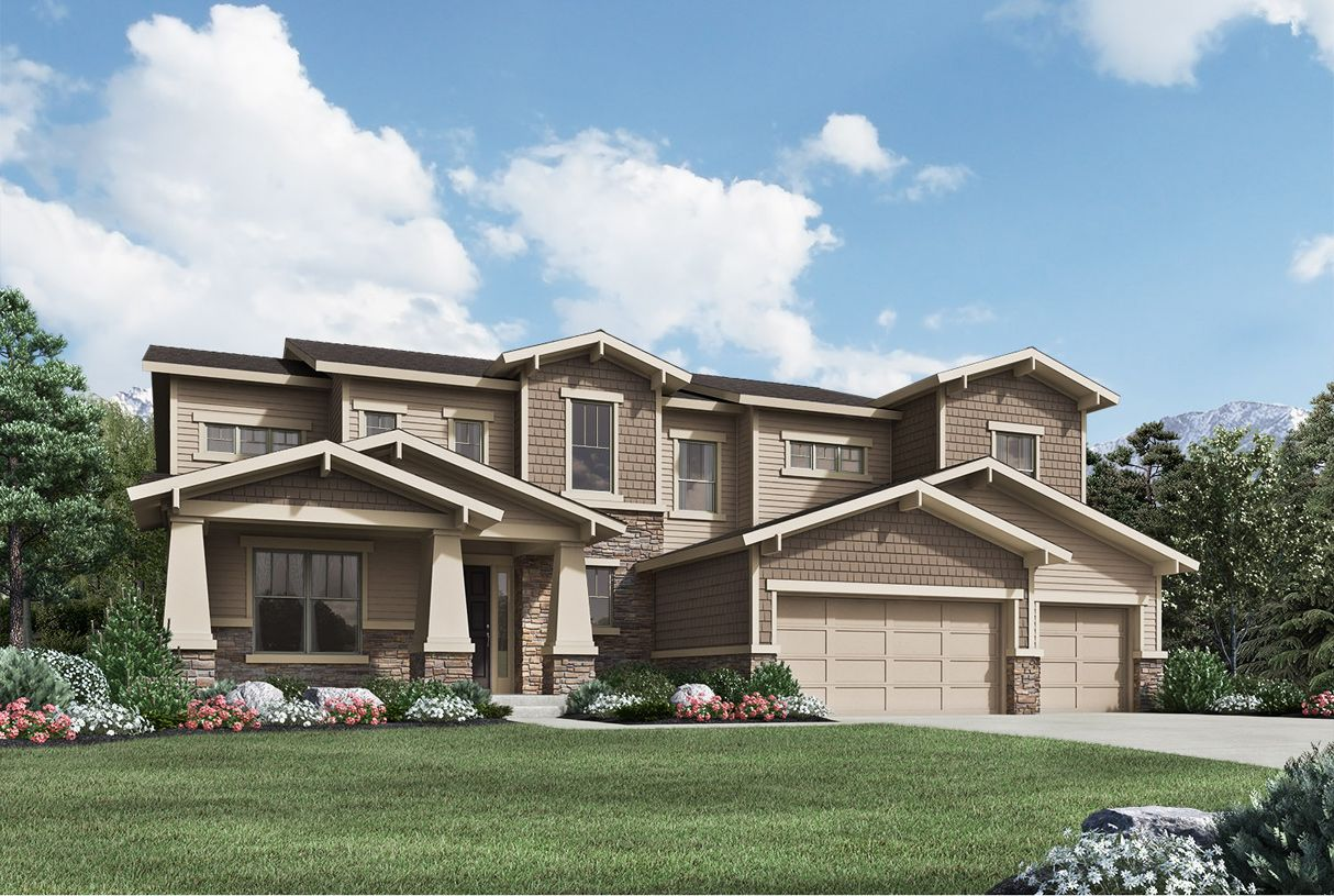 Single Family for Active at Toll Brothers At Candelas - Orion 16502 West 95th Lane Arvada, Colorado 80007 United States