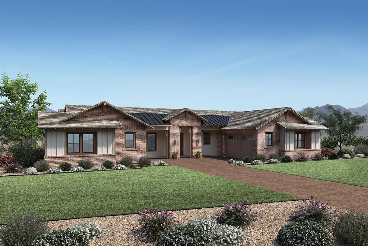 Single Family for Active at Whitewing At Whisper Ranch - Colton 19899 East Natalie Way Queen Creek, Arizona 85142 United States