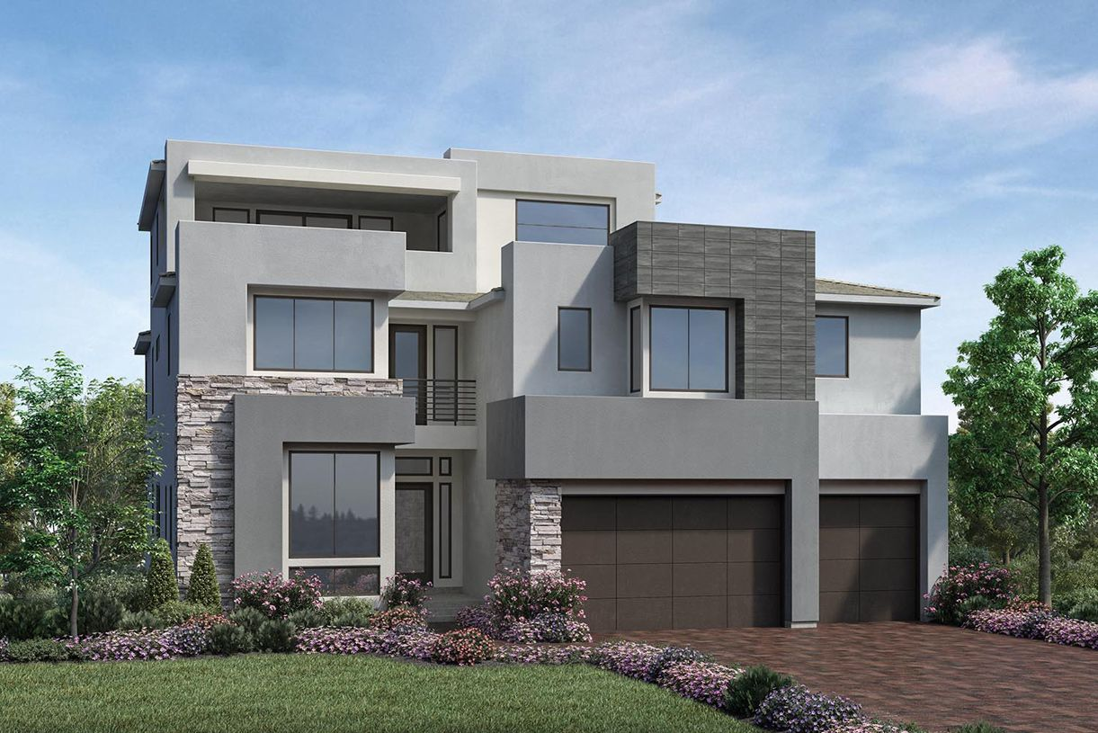 Single Family for Active at Westcliffe At Porter Ranch - Cascades Collection - Castor Elite 20340 W. Aberdeen Lane Porter Ranch, California 91326 United States