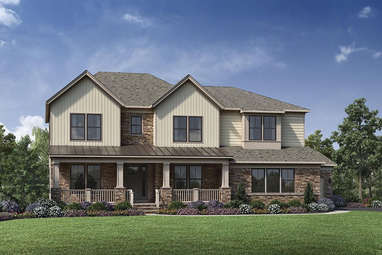 Single Family for Active at Lenah Mill - The Estates - Palisades 41497 Lavender Breeze Circle Aldie, Virginia 20105 United States