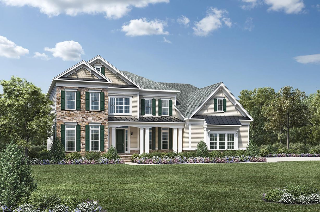Single Family for Active at Reserve At Colts Neck - Hollister 6 Strathmore Road Lincroft, New Jersey 07738 United States