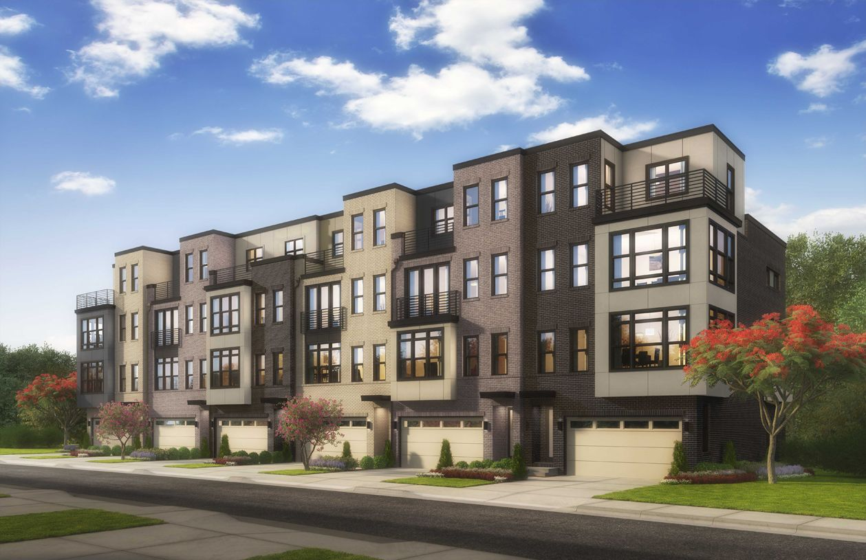Multi Family for Active at Commonwealth Place At Westfields - The Waverly - Stonecroft 4659 Charger Place Chantilly, Virginia 20151 United States