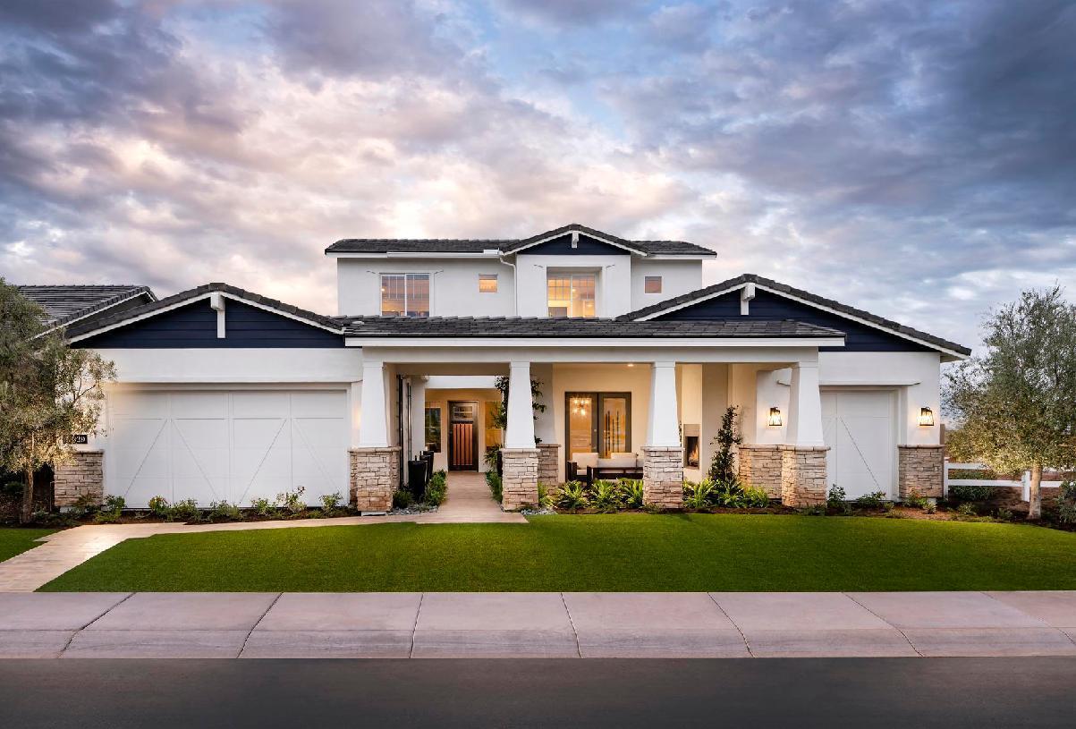 单亲家庭 为 销售 在 Sterling Grove - Sonoma Collection - Cloverdale 17193 West Montpelier Street Surprise, Arizona 85388 United States