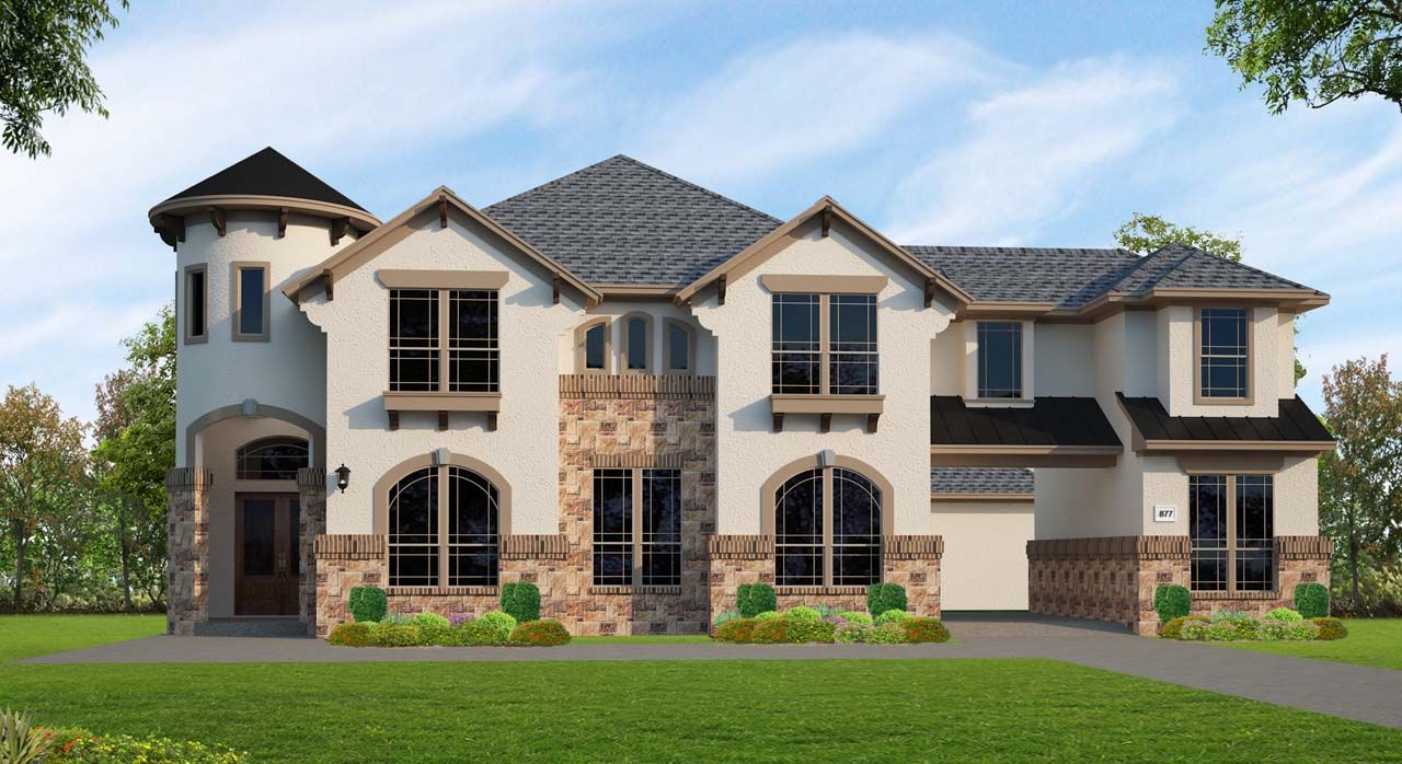 Single Family for Sale at Lakes At Creekside - Plan A877 25411 Driftwood Harbor Tomball, Texas 77375 United States