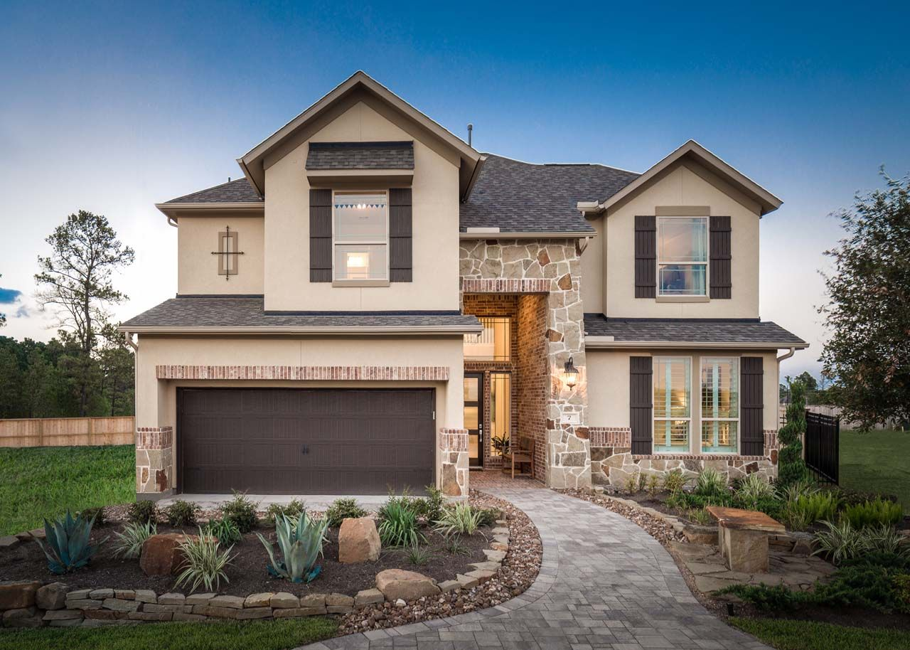 The Woodlands At Creekside 55 By Trendmaker Homes