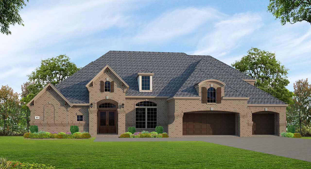 Single Family for Sale at Fulshear Run 1/2 Acre - Plan F931 29703 Hay Field Lane Richmond, Texas 77406 United States