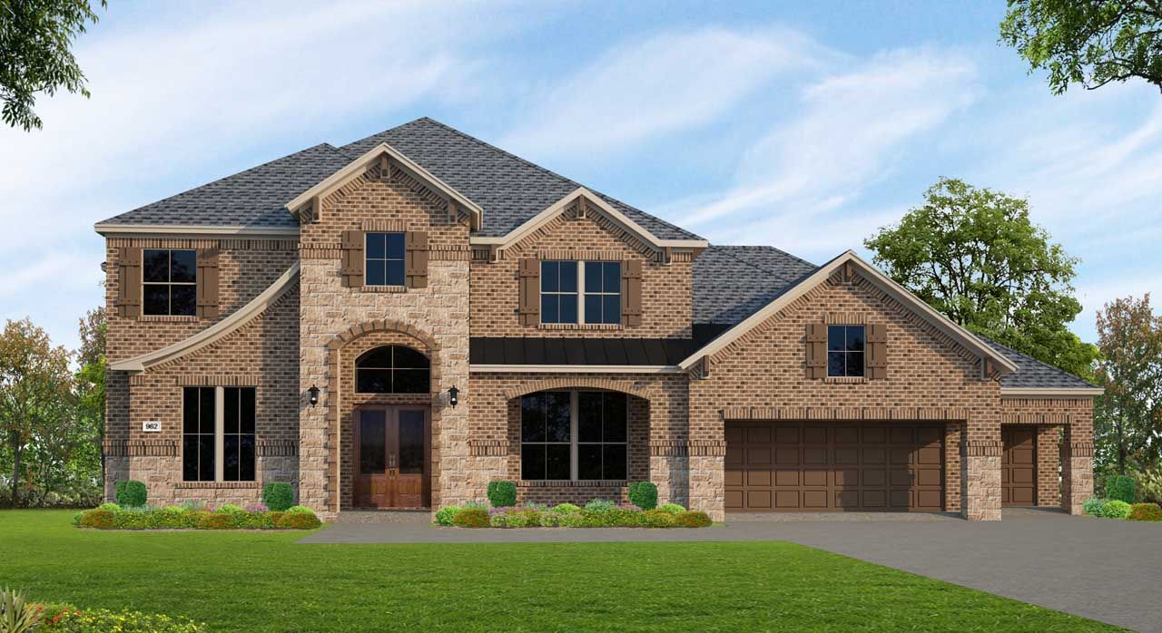 Single Family for Sale at Fulshear Run 1/2 Acre - Plan F962 29703 Hay Field Lane Richmond, Texas 77406 United States
