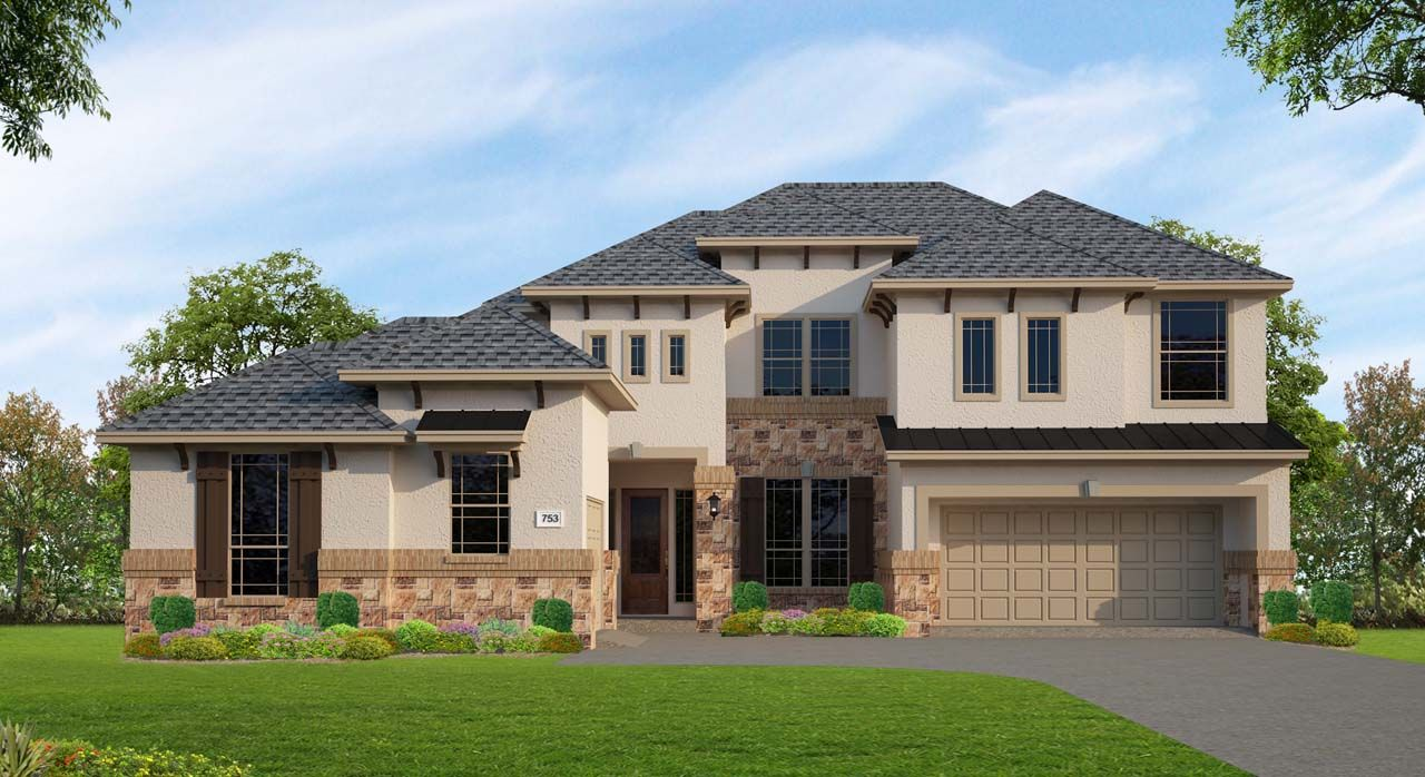 Unifamiliar por un Venta en Northgrove At Spring Creek - Plan C753 8558 Burdekin Road Magnolia, Texas 77354 United States