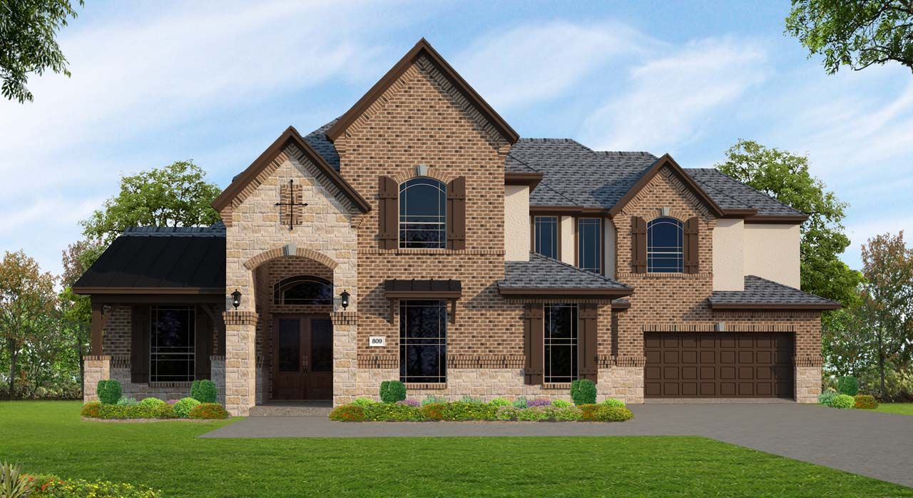 Single Family for Sale at Lakes At Creekside - Plan C809 25411 Driftwood Harbor Tomball, Texas 77375 United States