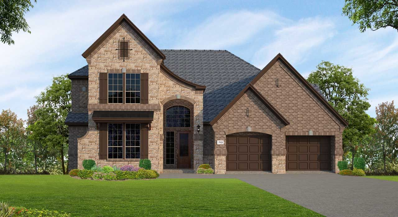 Single Family for Sale at Plan F713 16827 Caney Mountain Drive Humble, Texas 77346 United States