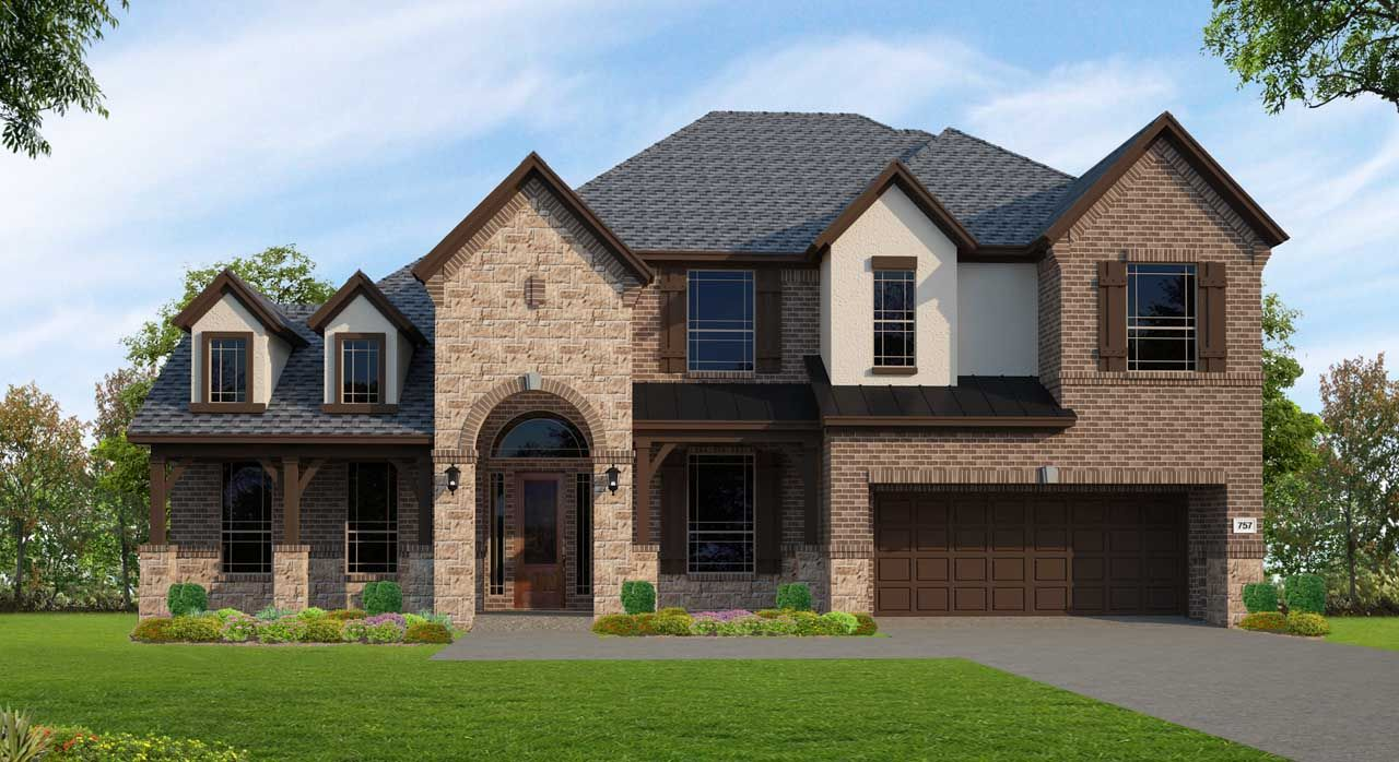 Unifamiliar por un Venta en Northgrove At Spring Creek - Plan F757 8558 Burdekin Road Magnolia, Texas 77354 United States