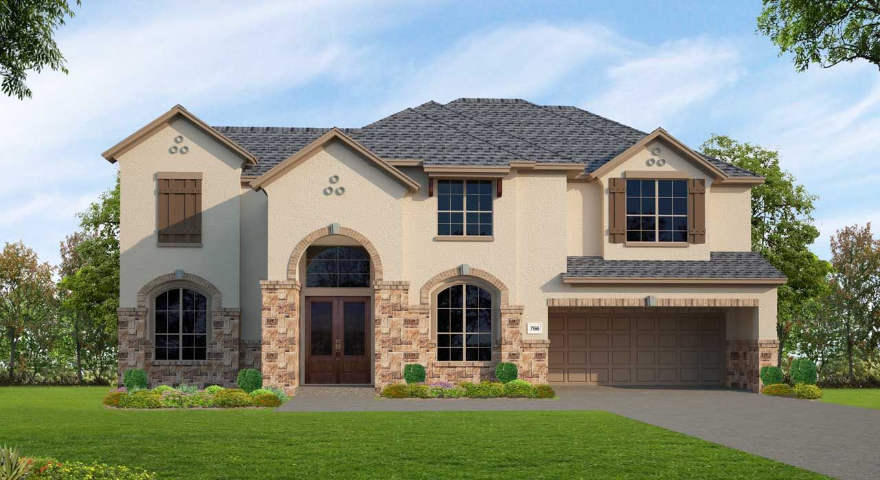 Unifamiliar por un Venta en Northgrove At Spring Creek - Plan F766 8558 Burdekin Road Magnolia, Texas 77354 United States