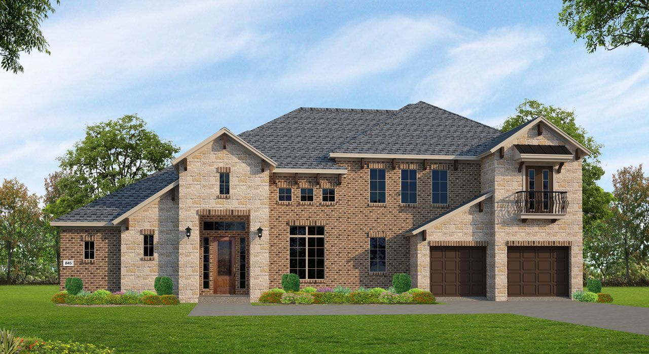 Single Family for Active at Plan M845 9419 Plaza Park Missouri City, Texas 77459 United States