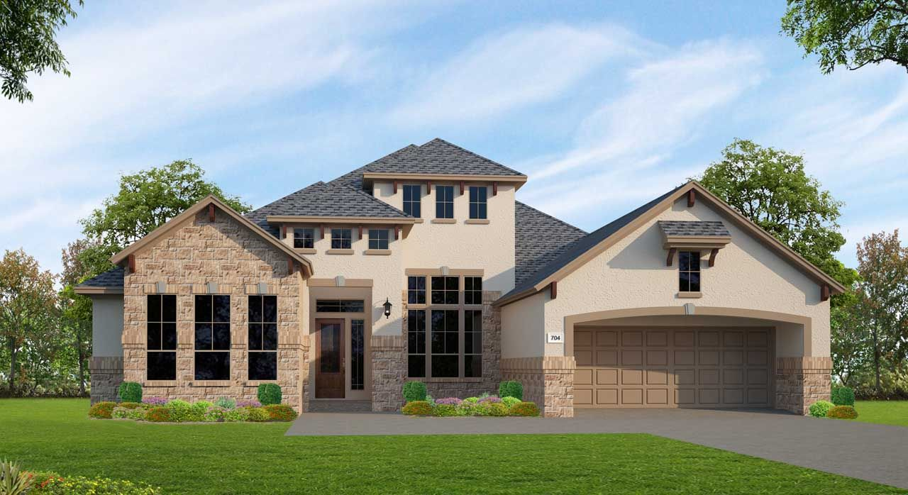 Unifamiliar por un Venta en Northgrove At Spring Creek - Plan F704 8558 Burdekin Road Magnolia, Texas 77354 United States