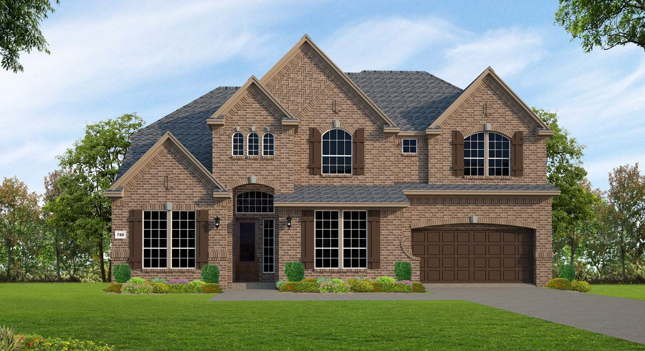 Single Family for Sale at The Groves 70' - Plan F749 17314 Sages Ravine Dr. Humble, Texas 77346 United States