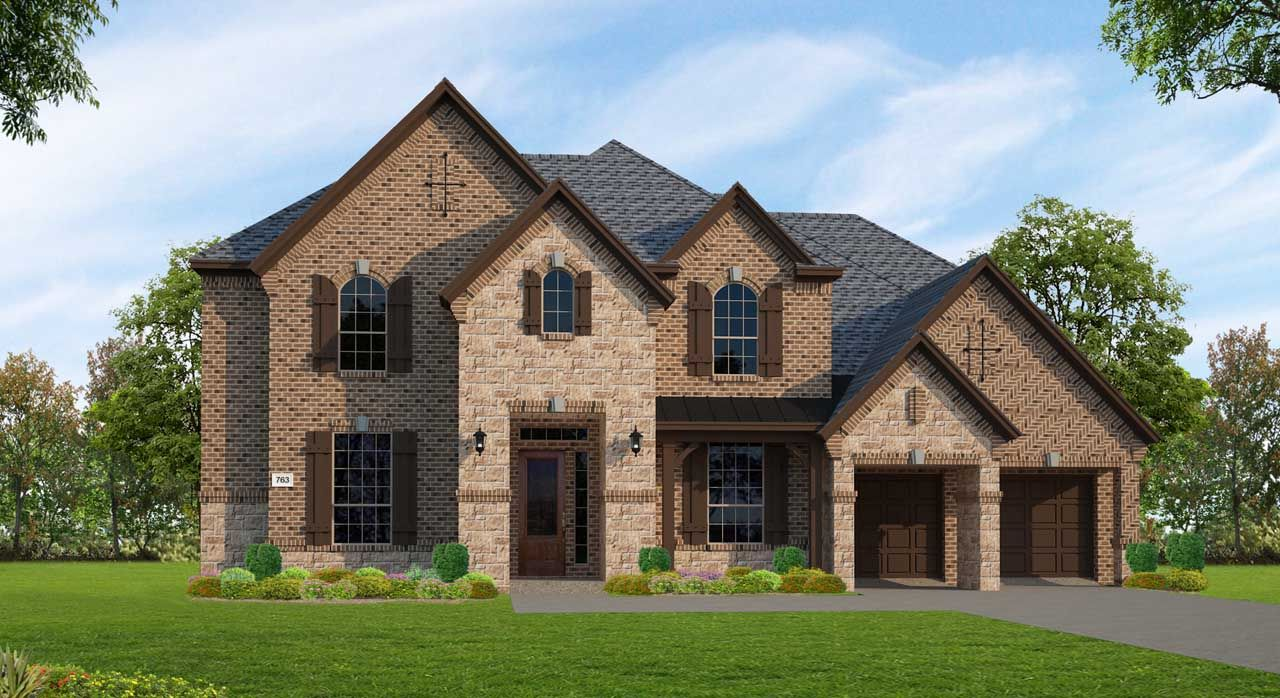 Single Family for Sale at Plan F763 13343 Itasca Pine Drive Humble, Texas 77346 United States