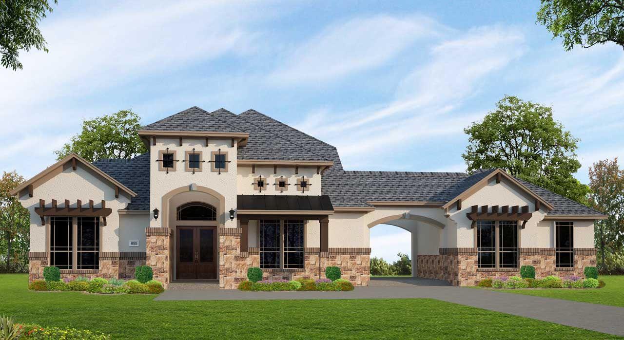 Single Family for Sale at Cross Creek Ranch 90'- Avanti - Plan A855 27514 Grayson Gap Ct. Fulshear, Texas 77441 United States