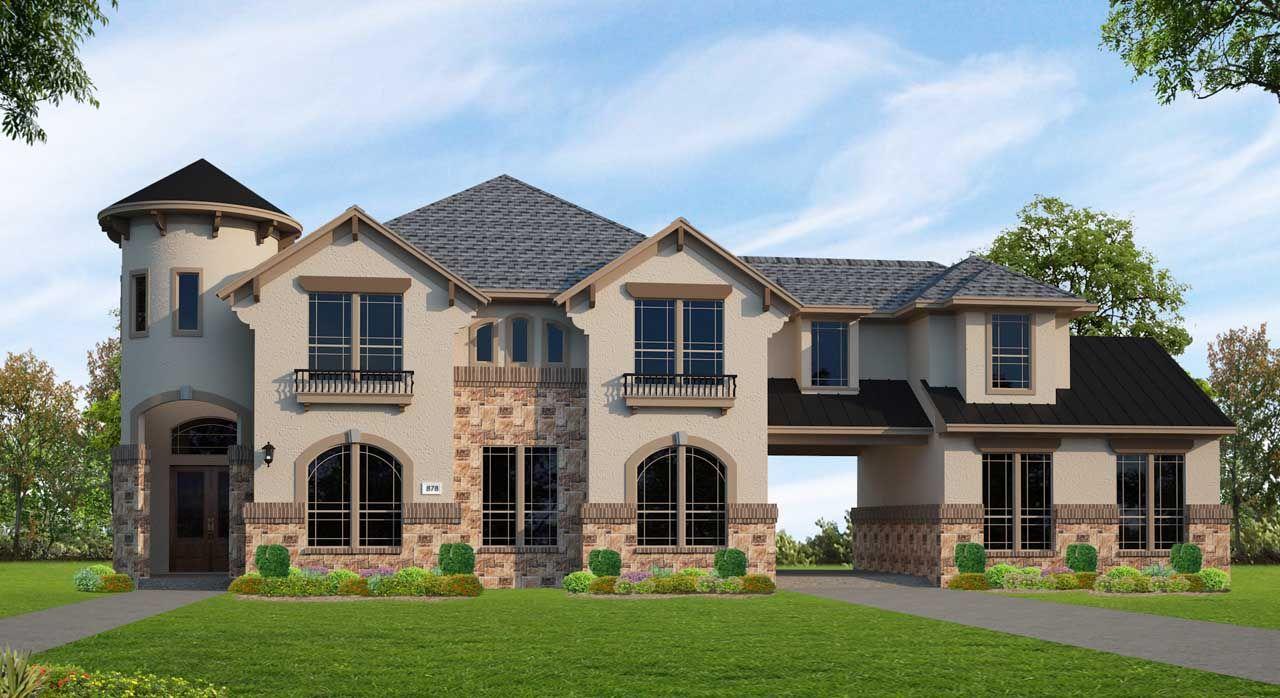 Single Family for Sale at Cross Creek Ranch 90'- Avanti - Plan A878 27514 Grayson Gap Ct. Fulshear, Texas 77441 United States
