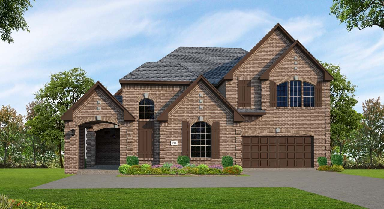 Unifamiliar por un Venta en Northgrove At Spring Creek - Plan C703 8558 Burdekin Road Magnolia, Texas 77354 United States